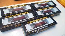 X5 N gauge Graham Farish Seacow ballast hoppers EWS livery